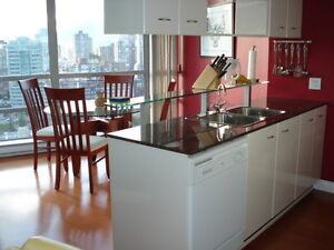 Yaletown, Furnished, All Utilities, High Flr., Wow SW Views!