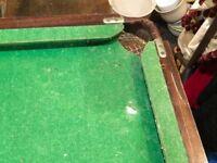 Snooker table, 6 Feet long