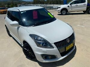 2016 Suzuki Swift FZ MY15 Sport White 7 Speed Constant Variable Hatchback Muswellbrook Muswellbrook Area Preview