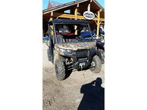 WOW 2016 CAN-AM DEFENDER DEMO IN MOSSY OAK CAMO, SAVE $2500 NOW