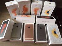 IPhone 6s 64gb unlocked brand new condition box warranty