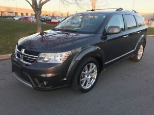 2016 DODGE JOURNEY R/T AWD|DVD|PUSH START|LEATHER|7 PSGR|REMOTE
