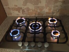 Fully Working 5 Ring Gas Hob for Sale