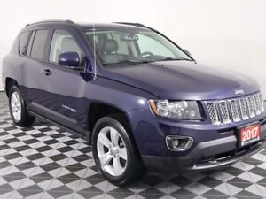 2017 Jeep Compass HIGH ALTITUDE w/HEATED LEATHER, MOONROOF, REMO