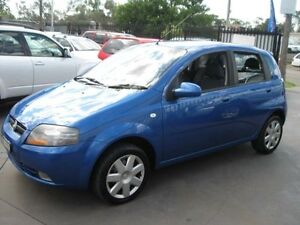 2005 Holden Barina TK Blue 5 Speed Manual Hatchback Cambridge Park Penrith Area Preview
