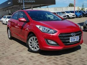 2015 Hyundai i30 GD3 Series II MY16 Active Red 6 Speed Sports Automatic Hatchback Morley Bayswater Area Preview