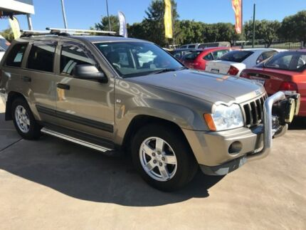 2006 Jeep Grand Cherokee WH MY2006 Limited Navigator Khaki 5 Speed Automatic Wagon