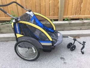 3 in 1 bike-trailer, stroller and jogger
