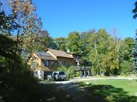 NEW PRICE-5 ACRES AND A BEAUTIFUL HOME ON GEORGIAN BAY