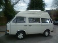 1984 T25 Campervan. 1.6 reconditioned golf diesel engine fitted 2014, 11600 miles on clock .