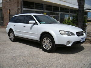 2004 Subaru Outback MY04 2.5i AWD Pearl White 5 Speed Manual Wagon Wangara Wanneroo Area Preview
