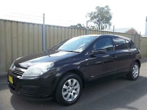 2006 Holden Astra AH MY06 CD Black 5 Speed Manual Hatchback Lalor Park Blacktown Area Preview