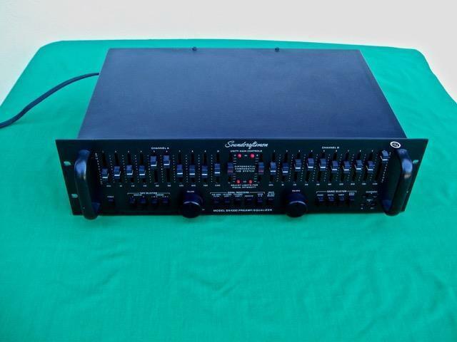 SOUNDCRAFTSMEN DX4200 PREAMPLIFIER / EQUALIZER EXCELLENT