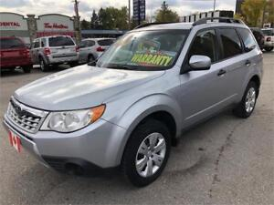 2012 Subaru Forester 2.5X AWD 4X4 PERFECT.CROSSOVER...MINT
