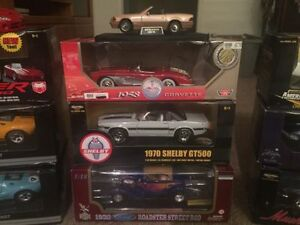 Lot of die cast cars. $35 and up.