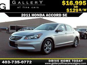 2011 Honda Accord SE $129 bi-weekly APPLY NOW DRIVE NOW