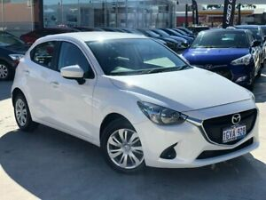 2016 Mazda 2 DJ2HAA Neo SKYACTIV-Drive White 6 Speed Sports Automatic Hatchback Palmyra Melville Area Preview