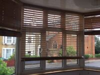 Wooden Blinds Light Elm (3 pieces)
