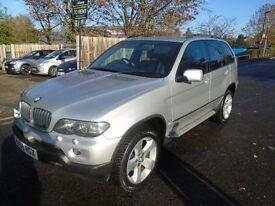 BMW X5 3.0 D SPORT 5d AUTO 215 BHP (silver) 2005