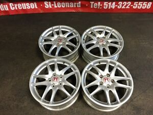 JDM ACURA RSX DC5 TYPE-R SILVER MAGS ONLY 5X114.3 17INCH