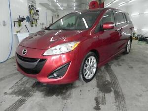 2017 Mazda5 GT, Cuir, Toit, Six Places, Bluetooth, Cruise, Mags