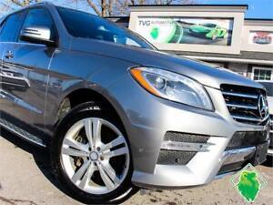 '14 Mercedes ML350 Bluetec Lane/Park/CrashAsst+B/UCam! $222/Pmts