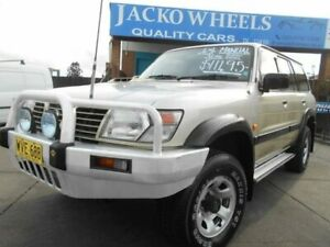 2000 Nissan Patrol GU II ST (4x4) Gold 5 Speed Manual 4x4 Wagon Bankstown Bankstown Area Preview