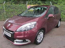 Renault Scenic 1.5 Dynamique Tom Tom DCi 110 6 Speed Turbo Diesel 5DR (ruby red) 2012