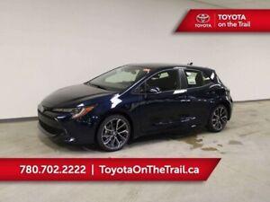 2019 Toyota Corolla Hatchback SE UPGRADE PKG CVT; SAFETY SENSE 2