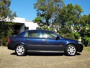 2001 Holden Astra TS CD Blue 4 Speed Automatic Sedan Underwood Logan Area Preview