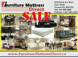 ***BLOWOUT SALE**** DINING SETS, KITCHEN SETS, FUTON, BEDS, FURNITURE & MATTRESSES ON SALE- UPTO 70% OFF**LOWEST PRICES