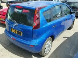 2009 59 NISSAN NOTE AUTOMATIC 5 DOORS PETROL - MPV - LOW MILES