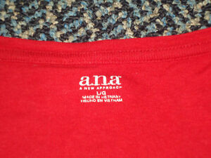 Ladies Size Large Long Sleeve a.n.a. Brand T-Shirt Kingston Kingston Area image 2