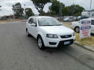 2009 Ford Territory AWD White Automatic Wagon
