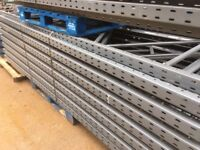 job lot 50 bays of dexion pallet racking 6m high AS NEW( storage , shelving )