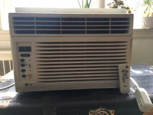 LG window air conditioner 6000btu