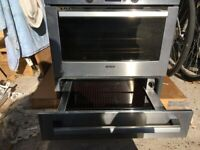 Built in Bosch Electric compact oven Andrew plate warmer