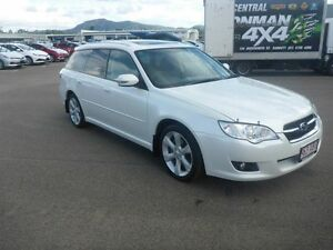 2009 Subaru Liberty B5 MY10 2.5i Sports Lineartronic AWD Premium White 6 Speed Constant Variable Vincent Townsville City Preview