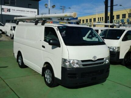 2009 Toyota Hiace KDH201R MY07 Upgrade LWB White 5 Speed Manual Van Canada Bay Canada Bay Area Preview