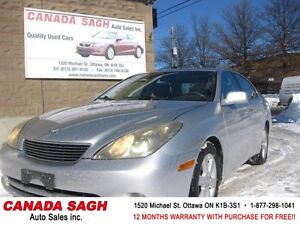 2006 Lexus ES 330 LOADED WITH LOW 149km ! 12M.WRTY+SAFETY$7490