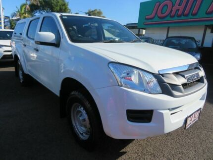 2014 Isuzu D-MAX MY15 SX Crew Cab 4x2 High Ride White 5 Speed Sports Automatic Utility Mount Gravatt Brisbane South East Preview