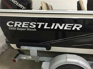 NEW 2015 CRESTLINER 1950 SUPERHAWK - GREAT FISHING BOAT