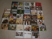 40 CDS - GIRL GROUPS AND BOY BANDS - plus solo artists from bands - see below for full list
