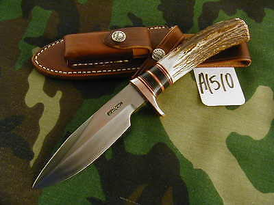 RANDALL KNIFE KNIVES C.C. COPPER TRIM,w/#27SH,NEW 2015 VARIATIONS,STAG #A1510