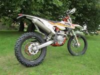 KTM EXC 500 SIX DAYS 2017 ENDURO ROAD LEGAL MOTORCYCLE