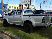 2006 Toyota Hilux GGN25R 06 Upgrade SR5 (4x4) Silver 5 Speed Manual Five Dock Canada Bay Area Preview