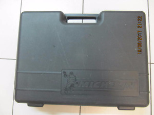 ClassicMichelin 12 piece CarCareCleaning Kit WithCase Circa1990s