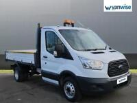 2015 Ford Transit 2.2 TDCi 125ps Chassis Cab Diesel white Manual