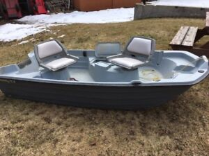 "10'-2"" Two Person Fishing Boat"