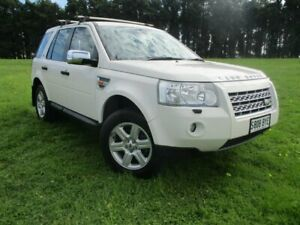 2008 Land Rover Freelander 2 LF Td4 SE White 6 Speed Sports Automatic Wagon Gepps Cross Port Adelaide Area Preview